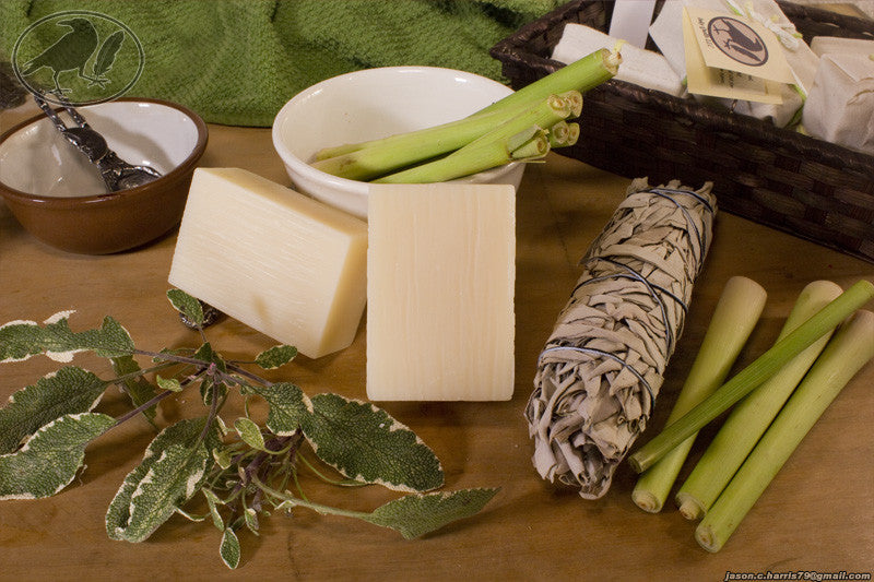 Lemongrass & Sage Avocado Oil Soap