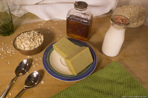 Oatmeal, Milk, & Honey Soap
