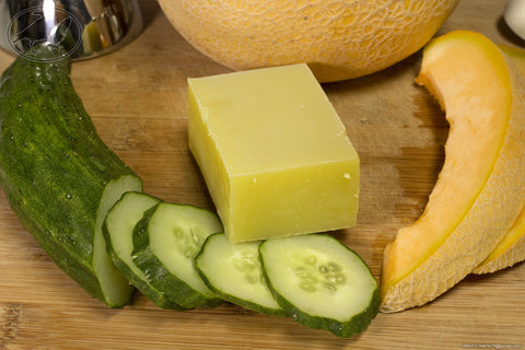 Cucumber Melon Hempseed Oil Soap