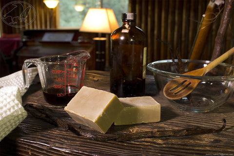 Old Fashioned Vanilla Hempseed Oil Soap