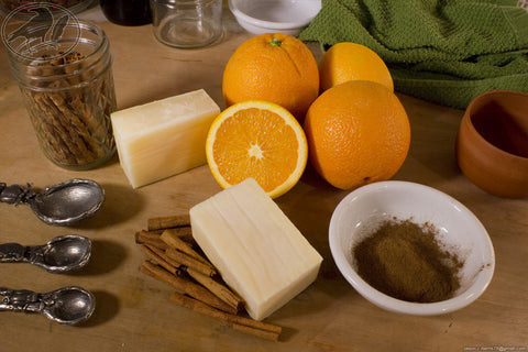 Orange Spice Avocado Oil Soap