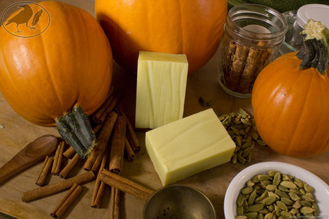 Pumpkin Spice Hempseed Oil Soap