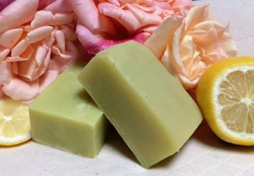 English Rose & Lemon Hempseed Oil Soap