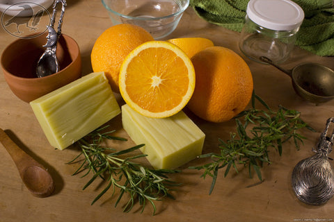 Rosemary Citrus Hempseed Oil Soap