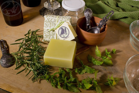 Shampoo Bar - Rosemary Mint Hempseed Oil