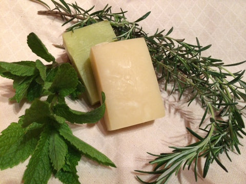 Rosemary Mint Hempseed Oil Soap