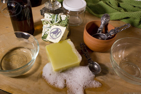 Shampoo Bar - Tea Tree Hempseed Oil