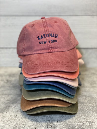 Washed Color Katonah Hat with Mesh Lining