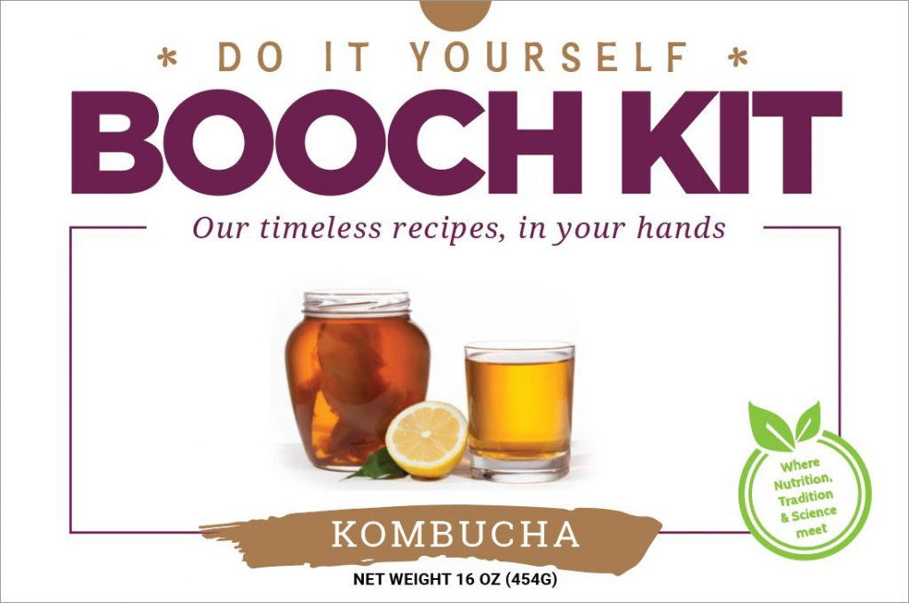 DIY Booch Kit - Edible Alchemy - Super Natural Foods