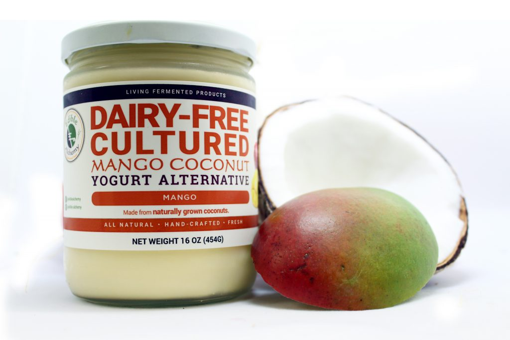 Mango Coconut Yogurt - Edible Alchemy - Super Natural Foods
