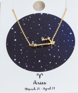 Constellation Necklace (All Signs Available)