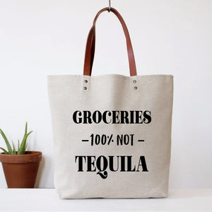 Groceries, Not Tequila