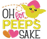 Oh For Peeps Sake Easter Face Mask - Maskwalla