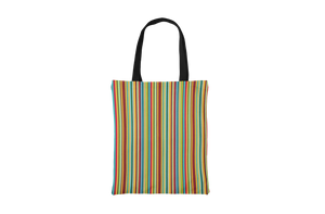 Colorful Striped Tote Bag - Maskwalla