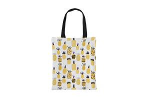 Yellow Pineapples Tote Bag - Maskwalla