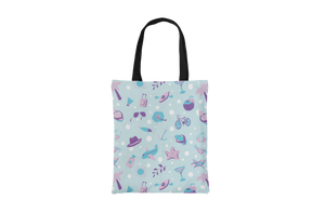 Blue Beach Tote Bag - Maskwalla