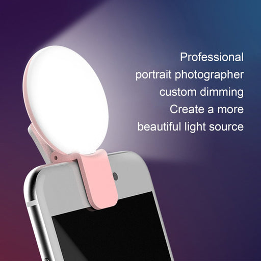 LED Ring Flash Universal Selfie Light - Gadgets Giga