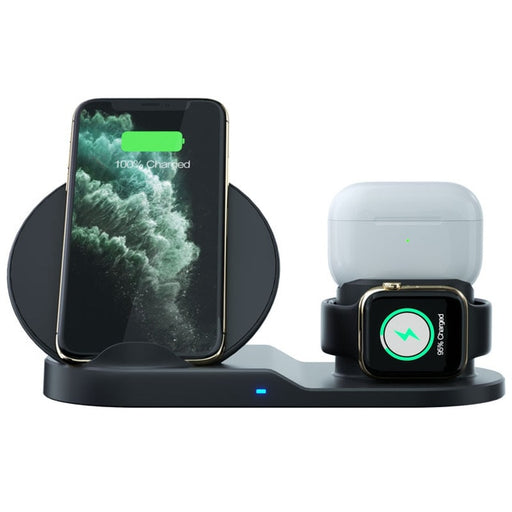 3 In 1 Fast Wireless Charger - Gadgets Giga
