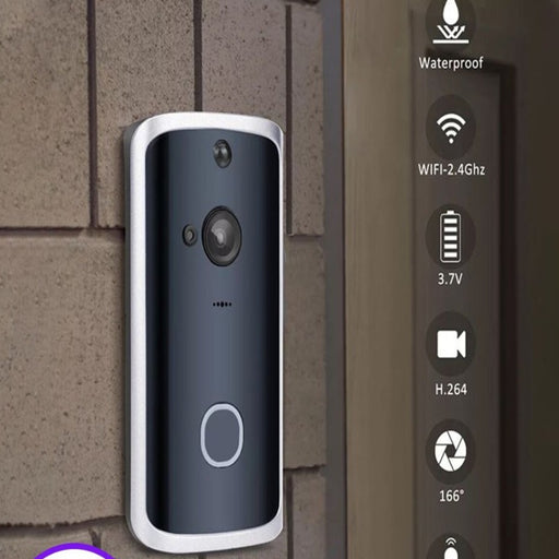 Smart WiFi Video Doorbell Camera - Gadgets Giga