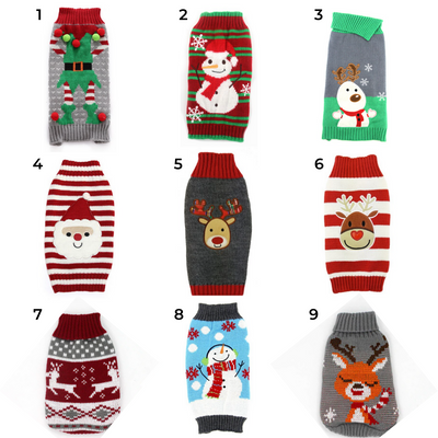 PUUURE Christmas Sweaters for Pets