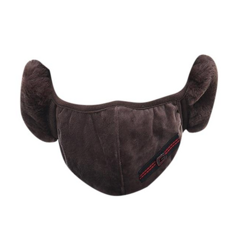 Unisex Warm Breathable Plush Face Mask