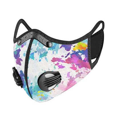 PUUURE Carbon Sport Face Mask (Tie Dye / Limited Edition)