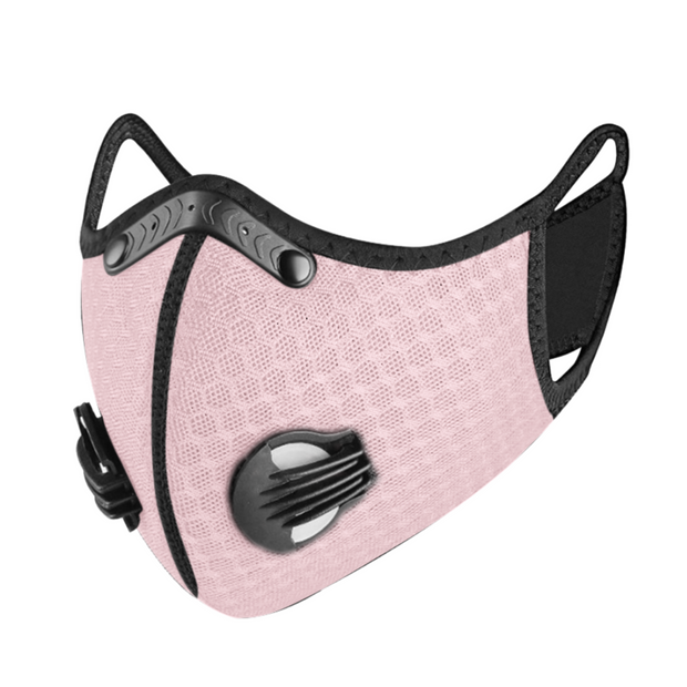 PUUURE Carbon Sport Adult Face Mask (Pink Limited Edition)