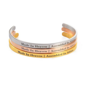 Made in Heaven| Assembled in Africa bracelet
