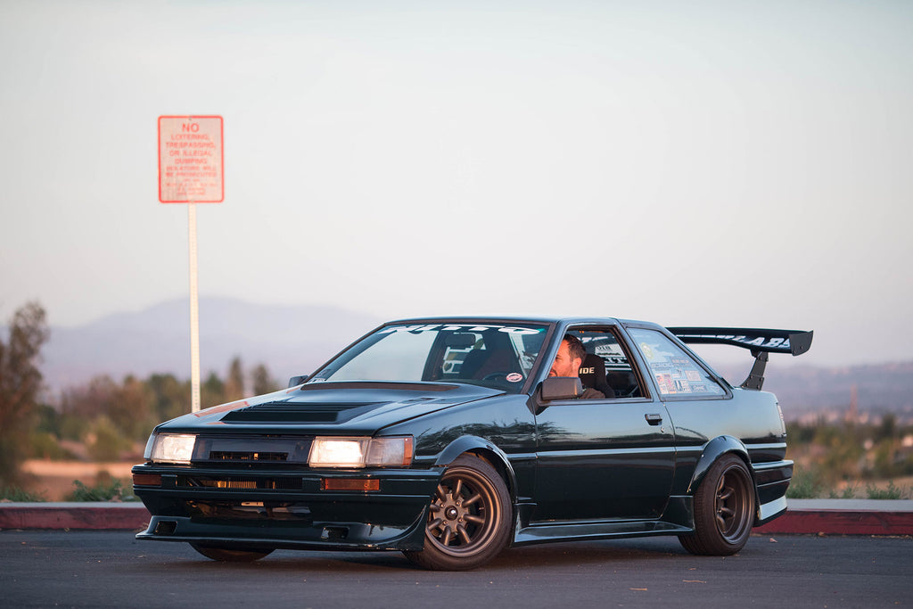 Blacktop 20V 4AG Swapped AE86 Levin