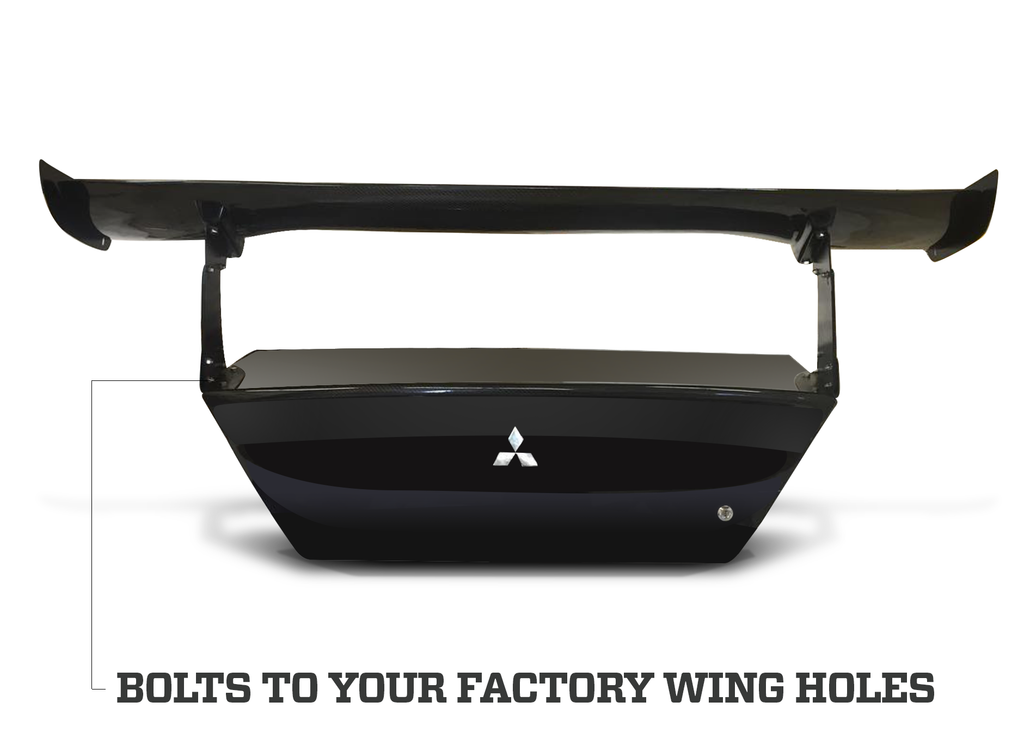 Evo 8 and 9 - Factory Fit Big Wing Release by BCL