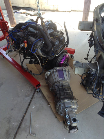 1JZ with Transmission removed