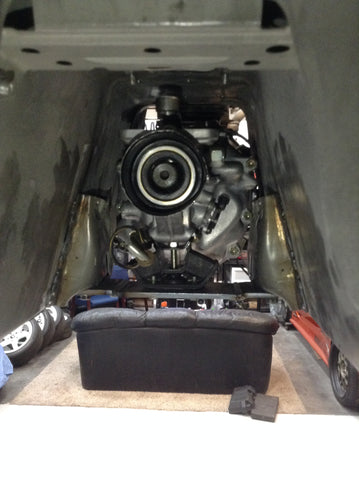 Gearbox cross member for R154 into BRZ