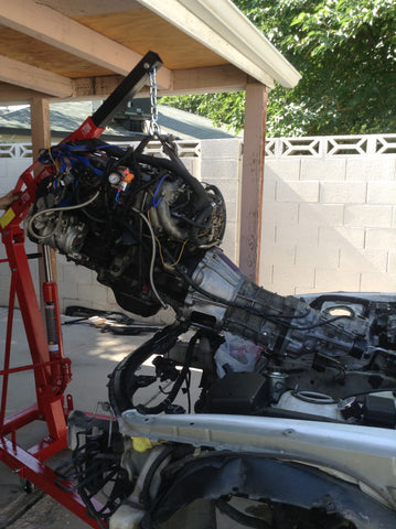 1JZ engine removal