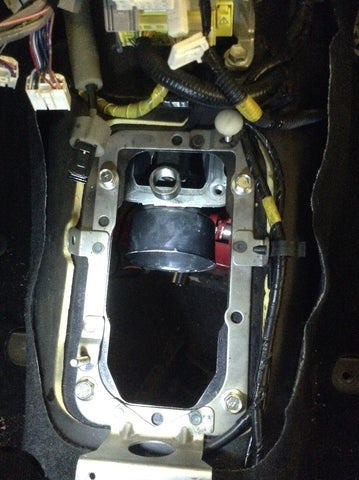 R154 shifter position in gt86 transmission tunnel