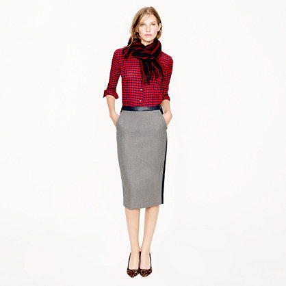 how a pencil skirt should fit adea everyday luxury