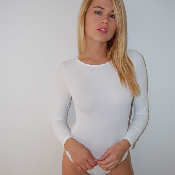 Long Sleeve Crew Neck Bodysuit