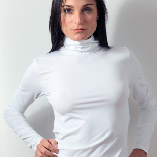 Long sleeve turtleneck layering top