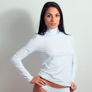 Long Sleeve Mock Neck Layering Top