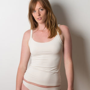 Reversible camisole scoop neck