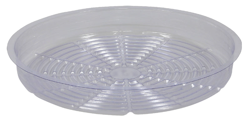 Gro Pro Heavy Duty Black Saucer 25 Inch with Tall Sides