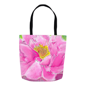 Pink Peony Tote