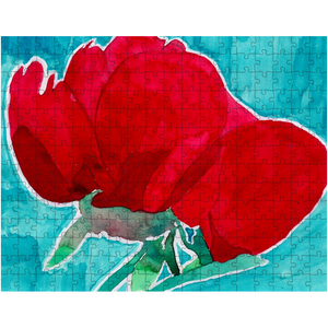 Red Flower Puzzle
