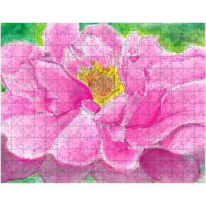 Pink Peony Puzzle