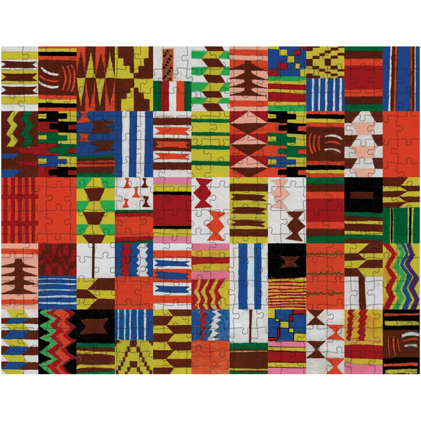Kente Inspired Tiles Puzzle