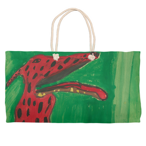 Big Red Dog Weekender Tote