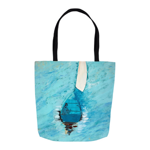 Peaceful At Sea Tote