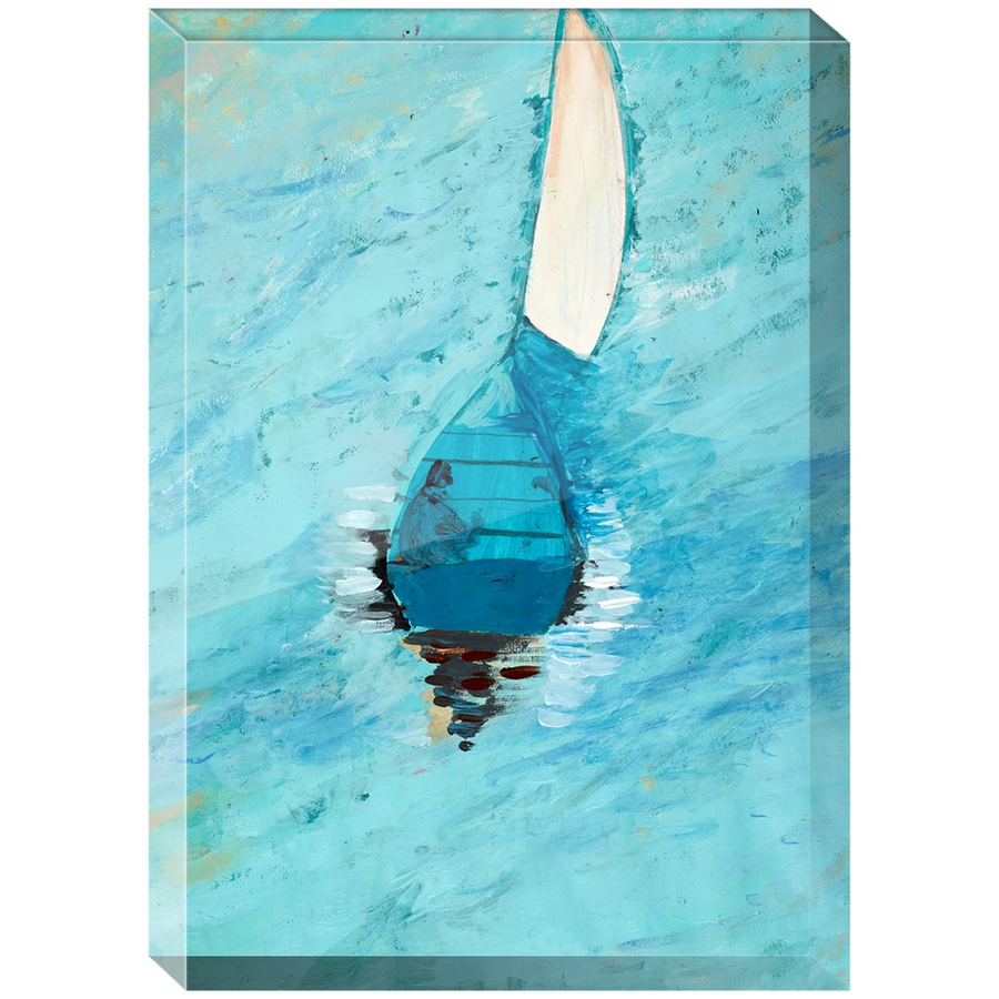 Peaceful At Sea Acrylic Block