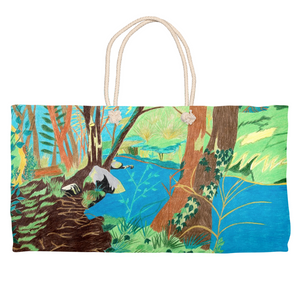 Peaceful River Weekender Tote