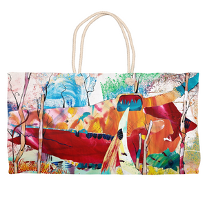 Nature Abstracted Weekender Tote