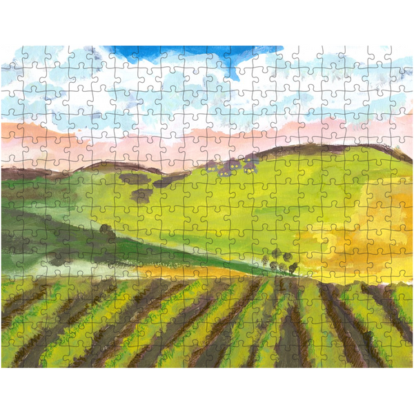 Green Hillside Puzzle